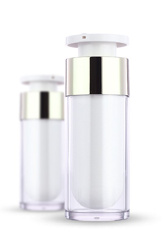 Acrylic bottle, airless bottle, luxury, skin care, new trends